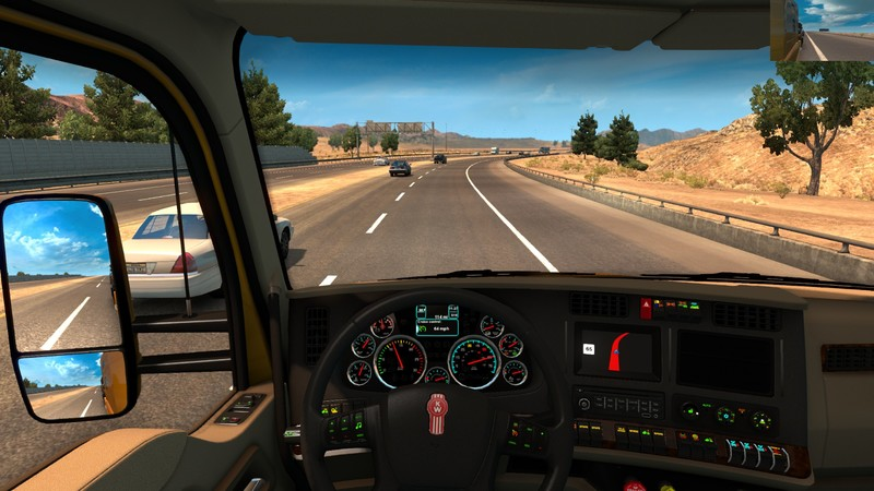 Dashboard Kenworth V 1 0 Ats American Truck Simulator