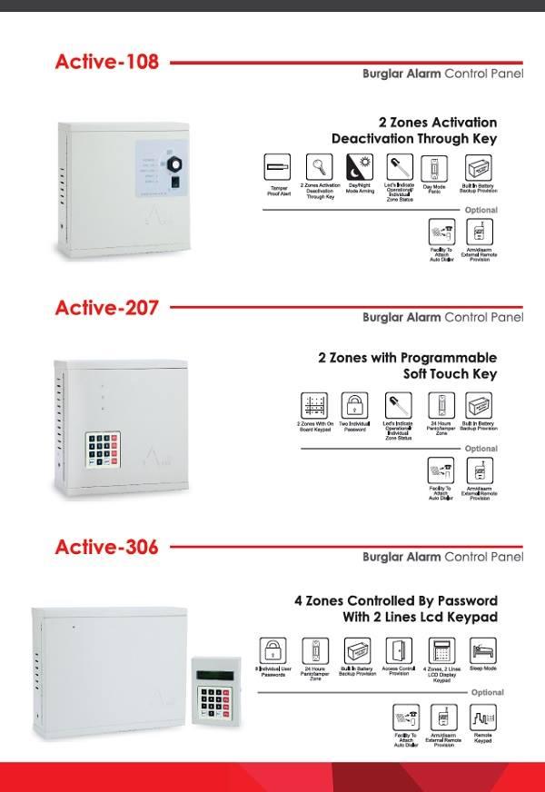 Burglar Alarm Security Systems Products Atss Chennai India