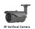 CCTV Camera Price List,CCTV IR Varifocal Camera India