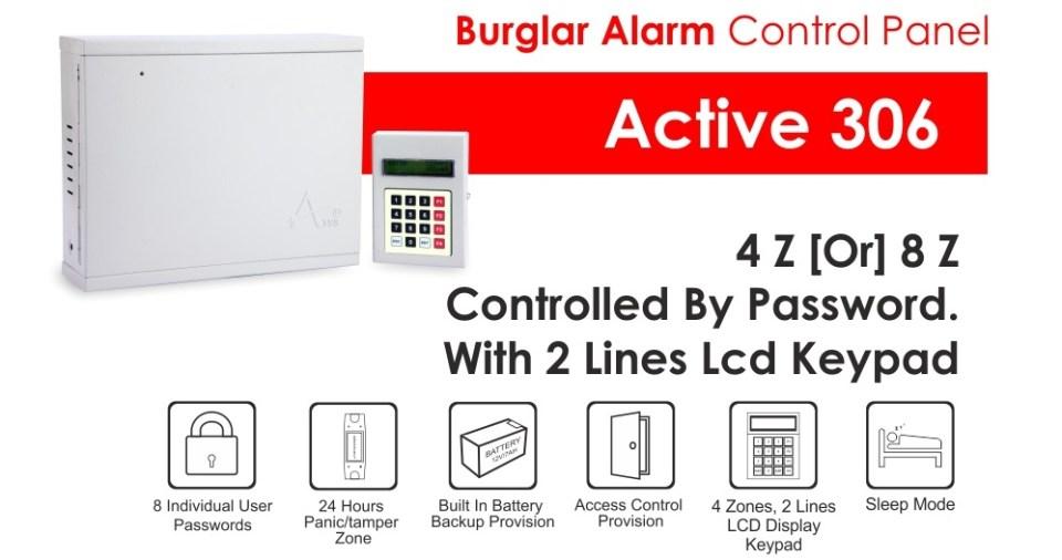 Burglar Alarm Active-306