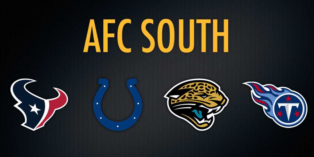 AFC SOUTH How Divisional Schedules May Impact Your