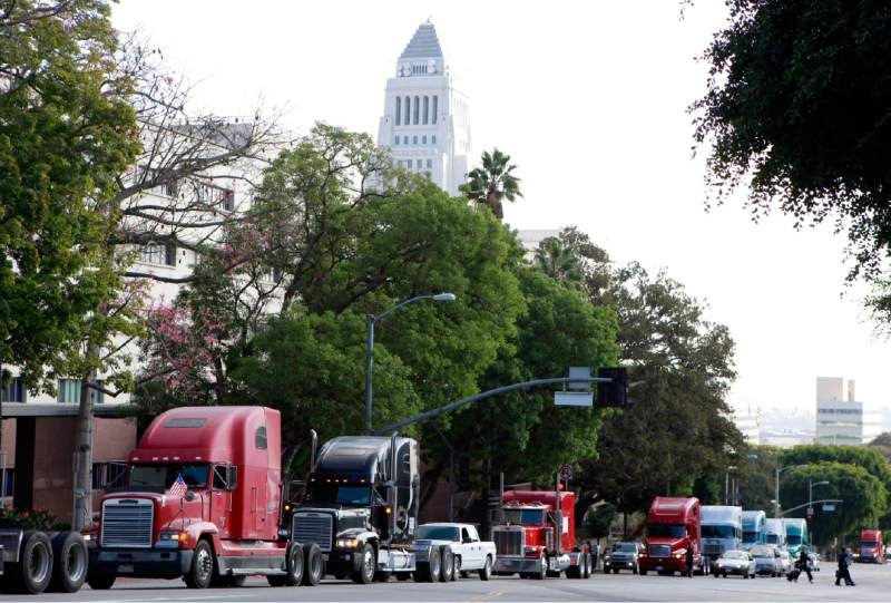 Overdrive November, 2019 – California, Truckers, and the Gig Economy