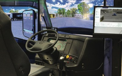 Overdrive January, 2021 – Schools and Simulators Offer Solution to Looming Truck Driver Shortage