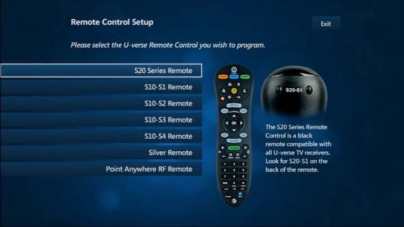 Uverse How Program Remote