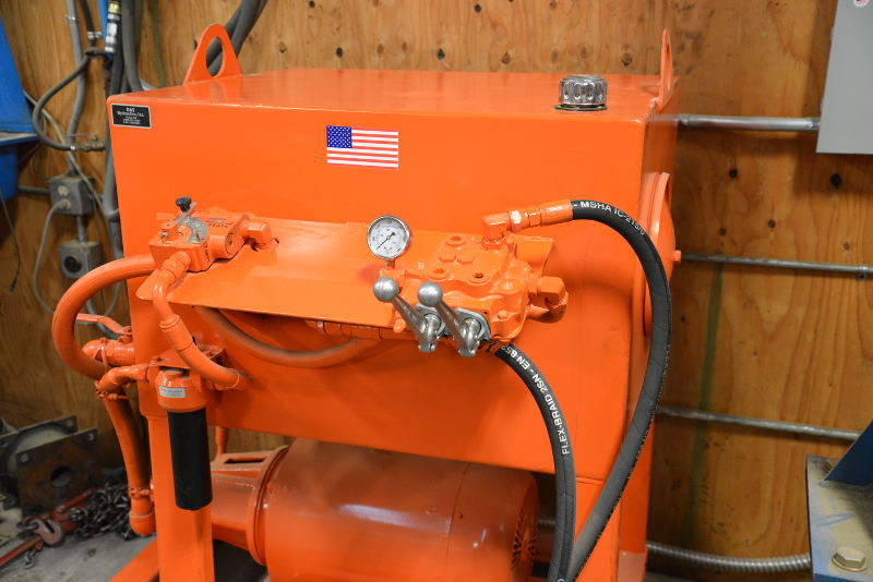ASC and D&S Add Hydraulic Attachment Service Test Stand