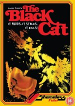 The Black Cat (1981) Shameless Screen Entertainment DVD Cover