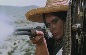 From bandit to bond-girl - Martine Beswick