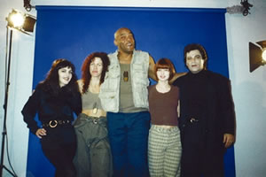 Original cast of Pale Dreamer: Brinke, me, Ken, Angel & Joe