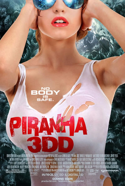 New Piranha 3DD Poster