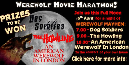 The Werewolf Movie Marathon with Cult Labs