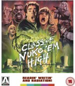 Class Of Nuke Em High - Arrow Films Blu-ray