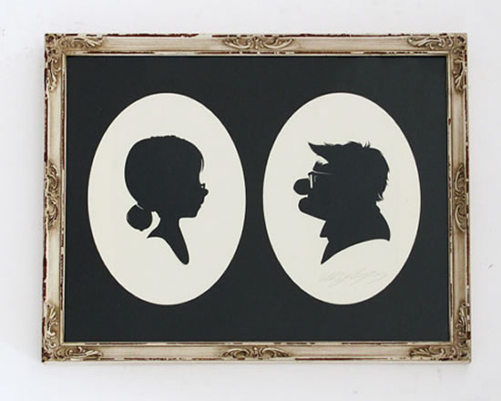 Silhouettes From Popular Culture By Titan Books