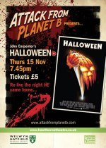 Attack From Planet B Presents ... Halloween