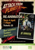 Attack From Planet B Presents.... Re-animator