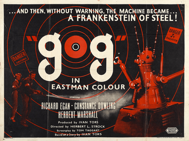 Gog (1954) Theatrical Poster