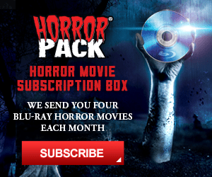 Horror Pack - Horror Movie Subscription Box