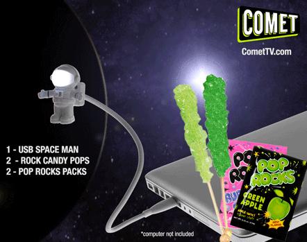 Comet TV Space Man Landing Pack Giveaway