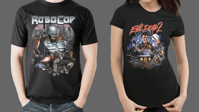 Fright-Rags' RoboCop and Evil Dead 2 Collections