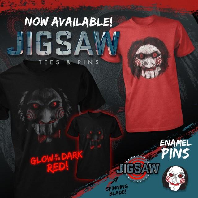 John Carpenter's Jigsaw Merchandise from Fright-Rags