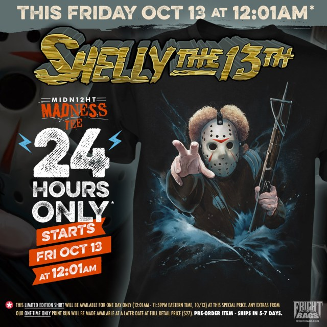 FRIDAY THE 13TH PART III Merchandise from Fright-Rags