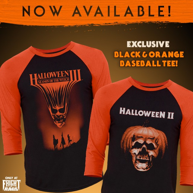 halloween ii and halloween iii season of the witch merchandise from fright rags