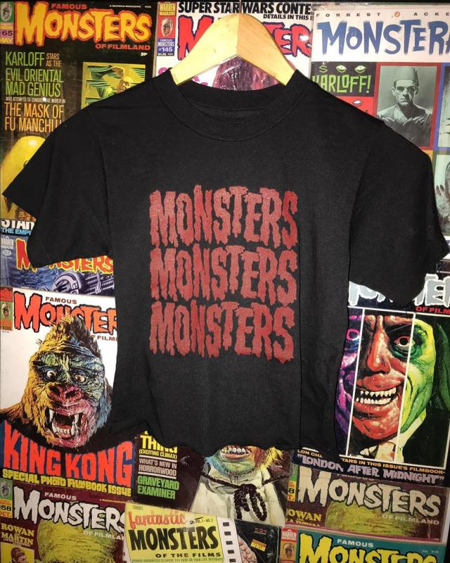 Local Boogeyman Vintage Washed Tees and Monster Crops