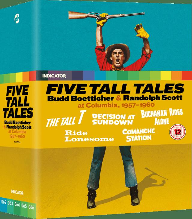 Five Tall Tales: Budd Boetticher & Randolph Scott at Columbia, 1957-1960