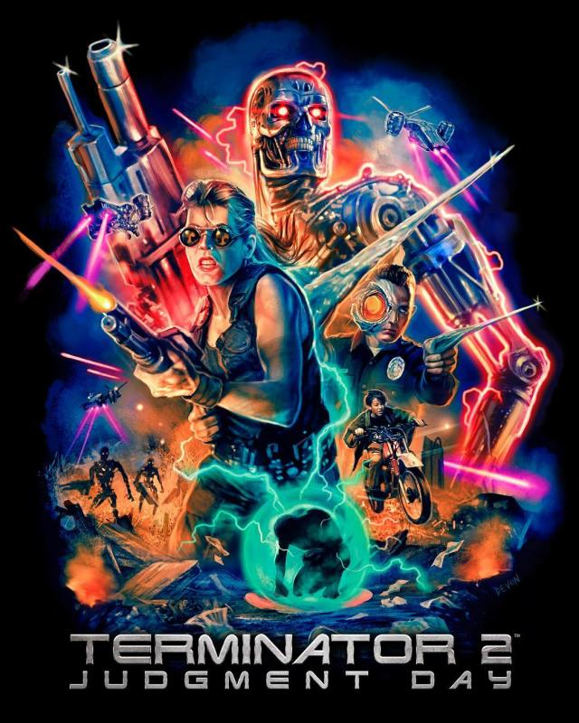TERMINATOR 2: JUDGMENT DAY Collection: Part 1 🔥 Now Available from Cavity Colors