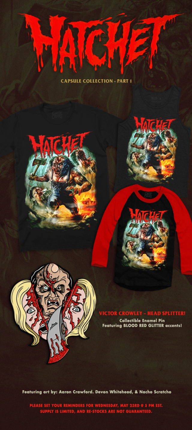 HATCHET Capsule Collection: Part 1 Now Available from Cavity Colors