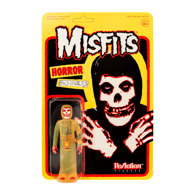 Super7 MISFITS ReAction Figures: Horror Business, Halloween, Bullet & Earth A.D.