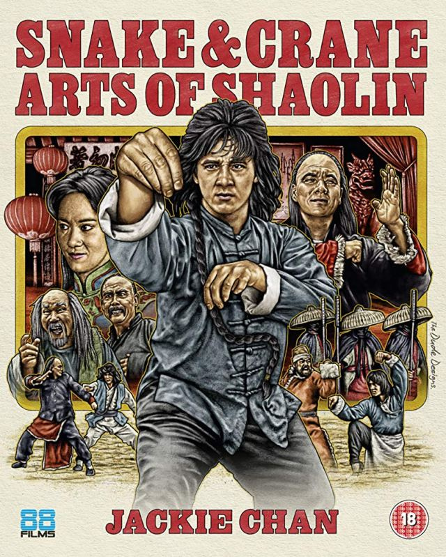 Jackie Chan's SNAKE & CRANE ARTS OF SHAOLIN Available 11th