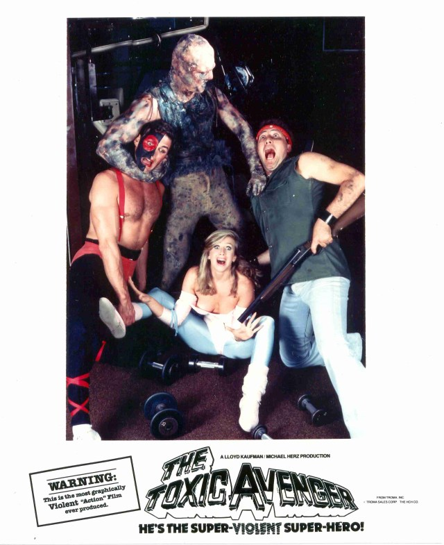 Troma Creature Double Feature: THE TOXIC AVENGER & CITIZEN TOXIE: THE TOXIC AVENGER IV Screening at Beat Kitchen in Chicago! (November 24th)