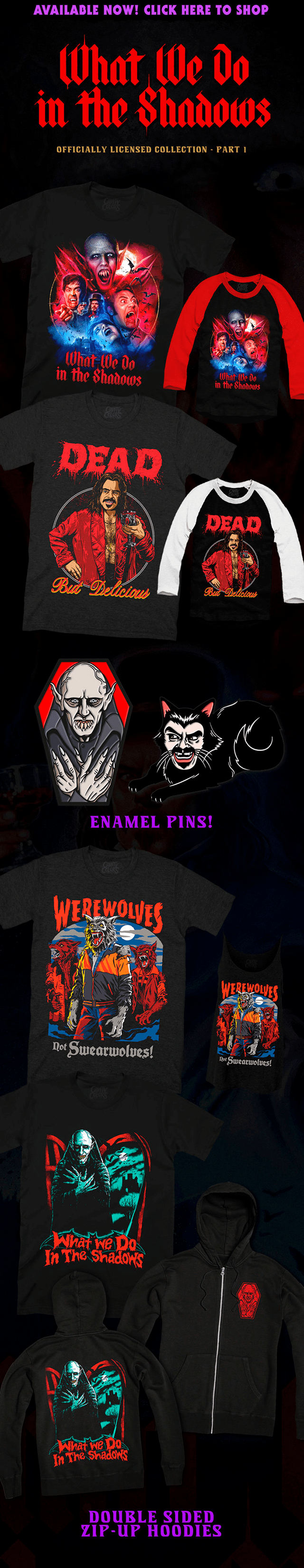 WHAT WE DO IN THE SHADOWS Collection: Part 1 from Cavity Colors 🧛🏻
