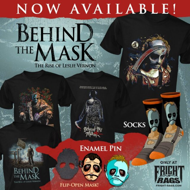 Cult Classics BIG TROUBLE IN LITTLE CHINA and BEHIND THE MASK Apparel from Fright-Rags