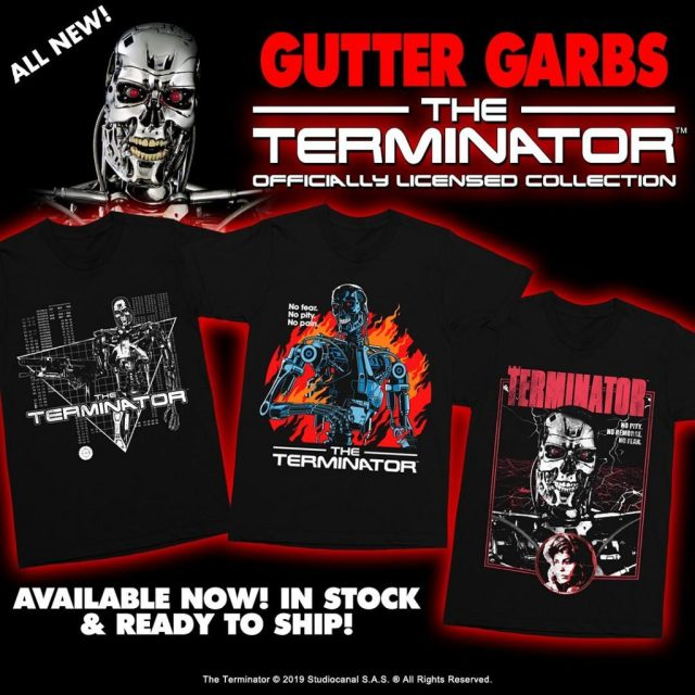 """""""Deadlier Than Dracula!"""" BLACULA & THE TERMINATOR Collections from Gutter Garbs"""