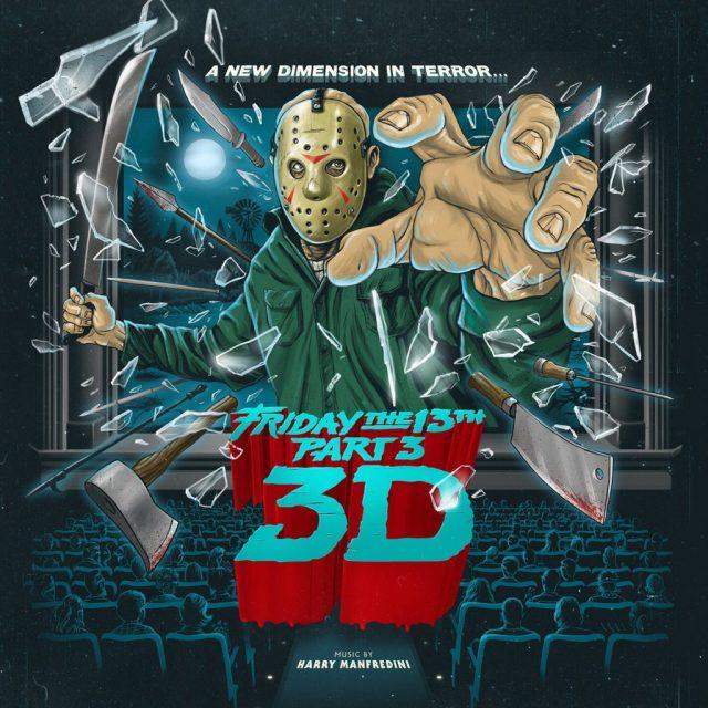 Waxwork Records Presents FRIDAY THE 13TH PART 3 Vinyl Soundtrack