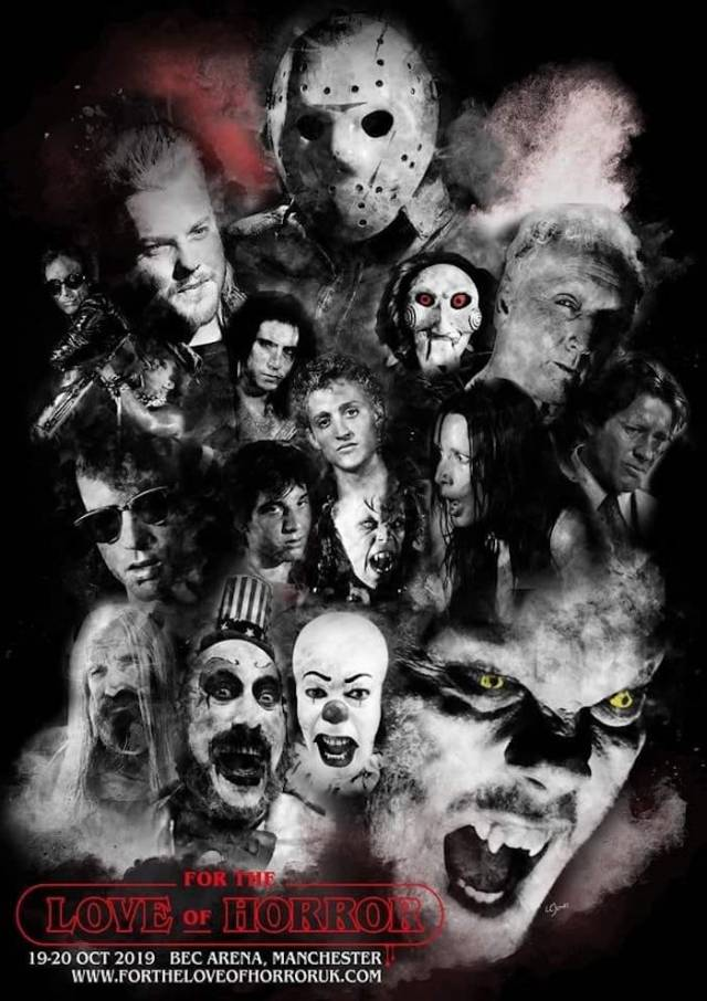 For the Love of Horror (Saturday 19th-Sunday 20th October 2019)