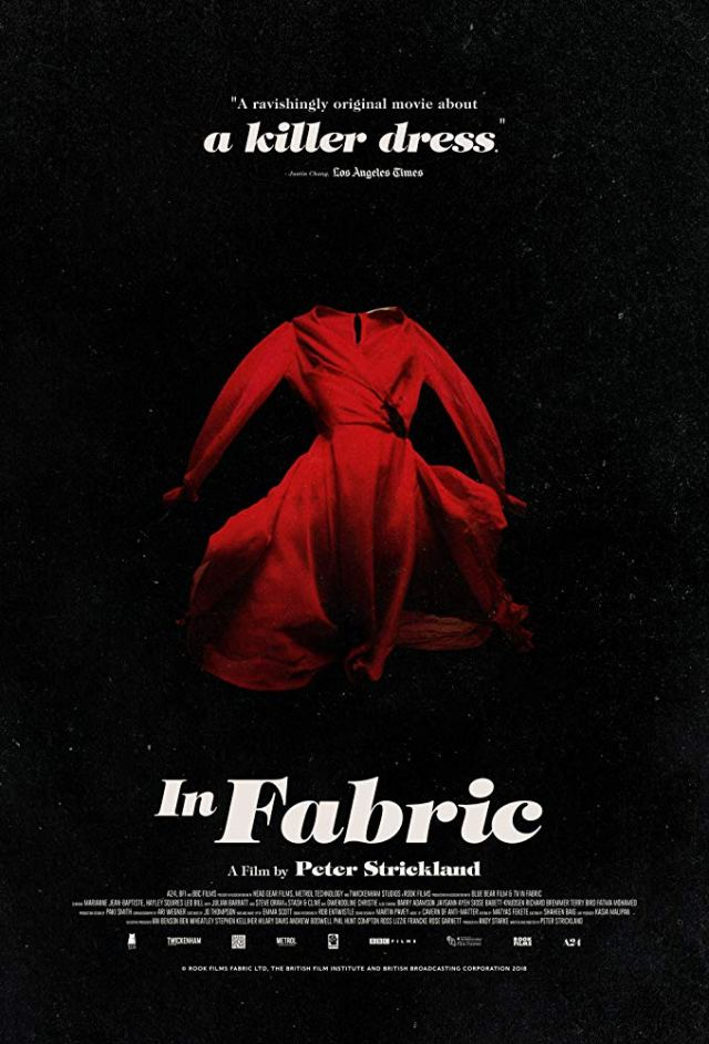 A24's IN FABRIC in U.S. Theaters on December 6 and On Demand December 10