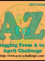 AOTB is taking the April Blogging from A to Z Challenge