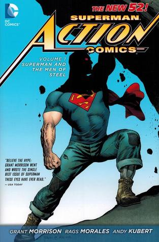Superman – Action Comics, Vol. 1: Superman and the Men of Steel Book Cover