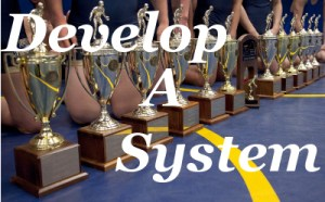 Trophies Lined up 400 system