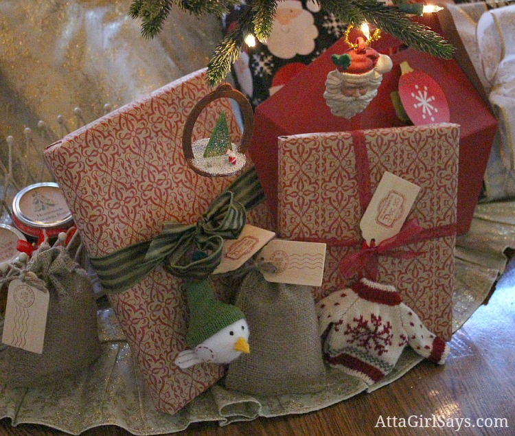 Pier One Christmas Wrapping Paper
