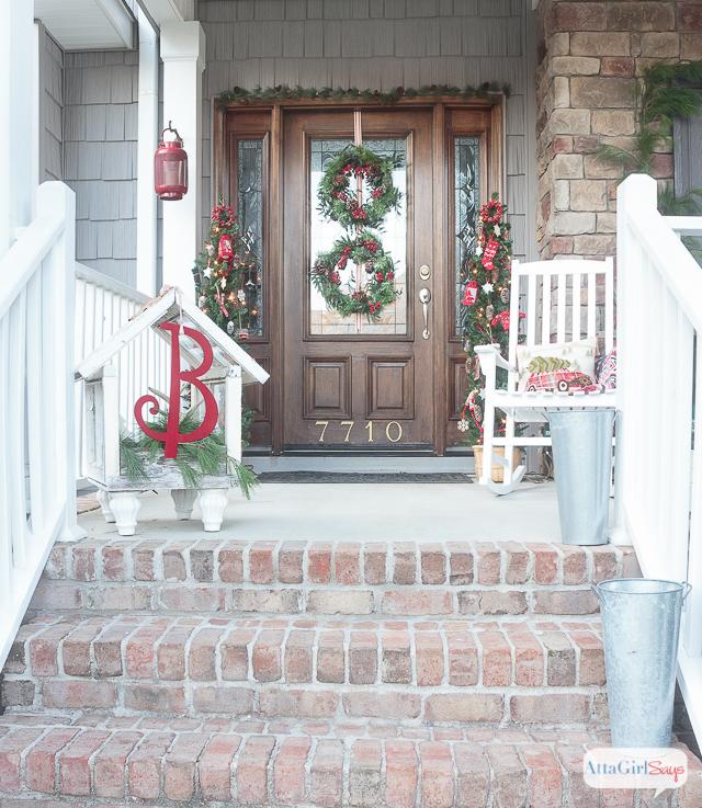 Lodge Look Christmas Tree And Wreath