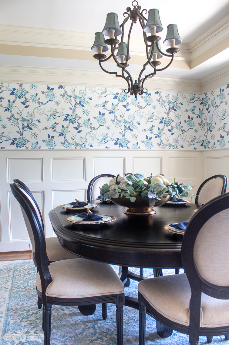 dining room wallpaper ideas inspiration from real homes on dining room inspiration id=86244