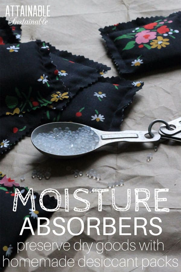 Moisture Packs You Can Make At Home For Food Storage