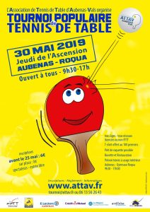 Tract - Tournoi Populaire 2019 - ATTAV