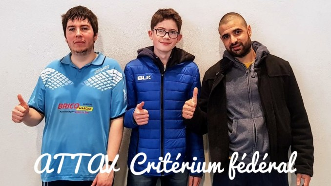 ATTAV Critérium tour 3 2018/2019