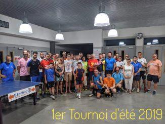 Photo de groupe du premier tournoi d'été 2019