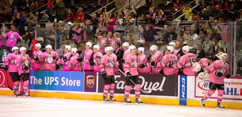 Pink In The Rink San Antonio Rampage Vs Texas Stars