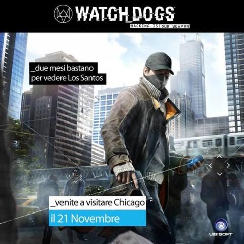 La figura di merda non è solo il fatto che GTA V sia un gioco migliore di Watch Dogs, ma soprattutto che quest'ultimo fu rimandato dopo questa genialata e... altro che due mesi!